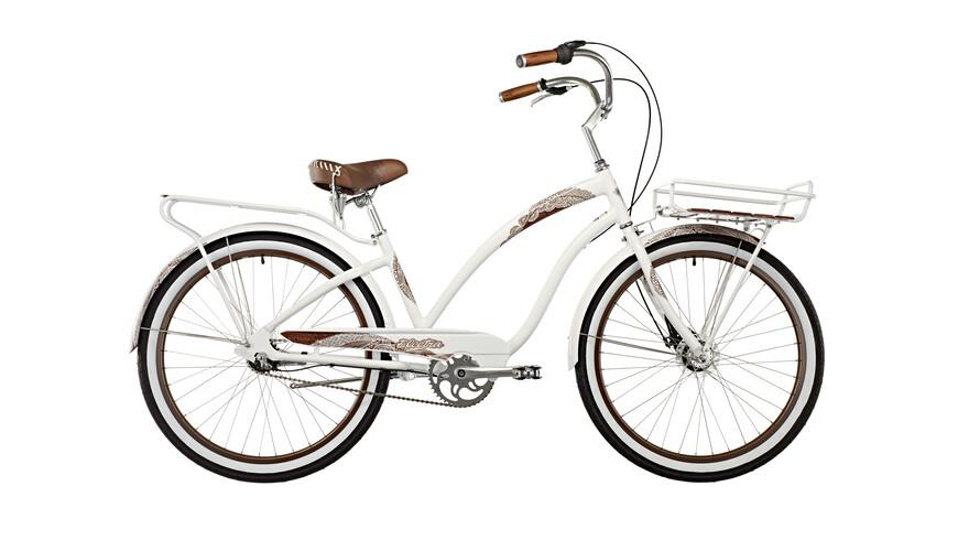 Electra Koa 3i kaupunkipyörä , valkoinen